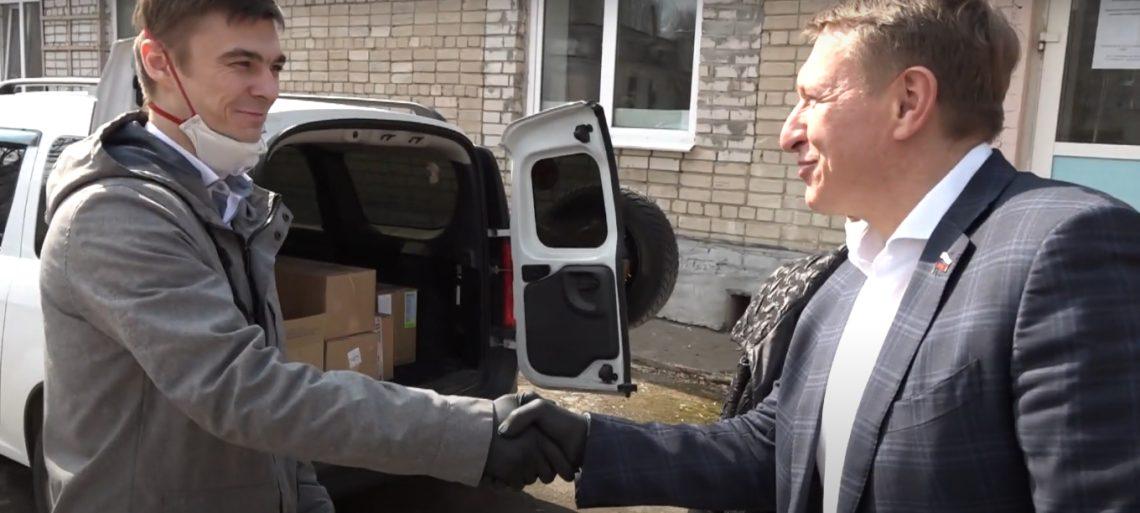 Компания ООО «Никофарм» оказала помощь больнице Перми